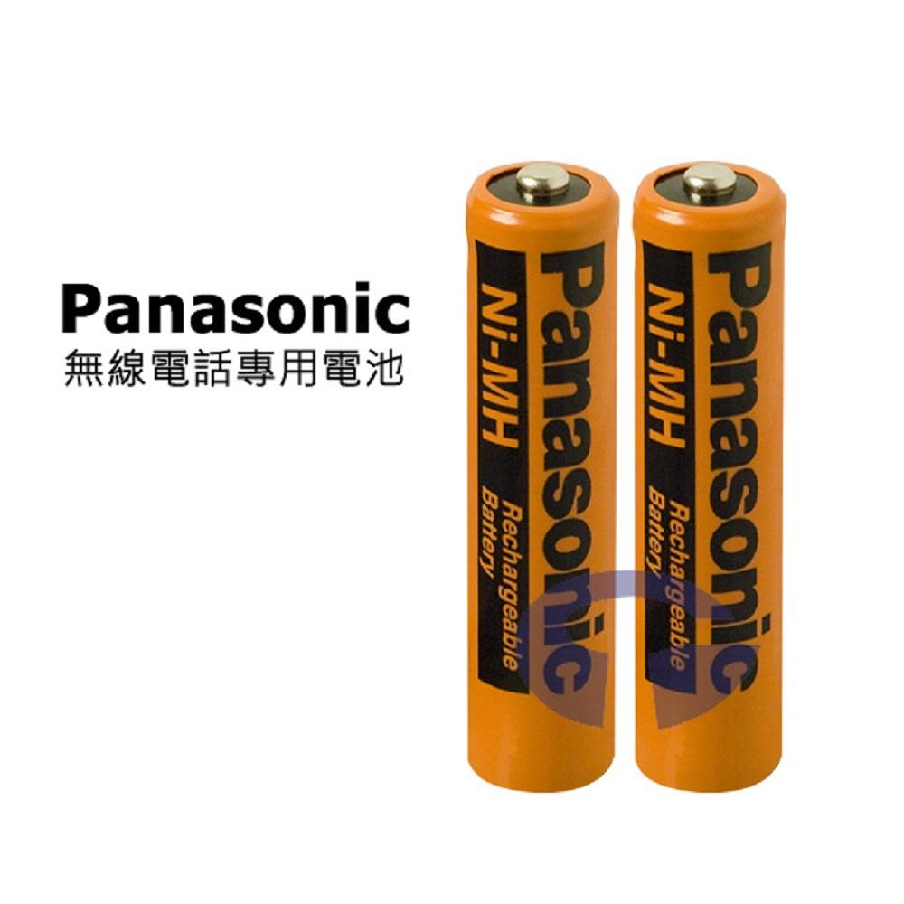 Panasonic AAA 家用無線電話 4號充電電池 HHR-55AAAB (一組2入)