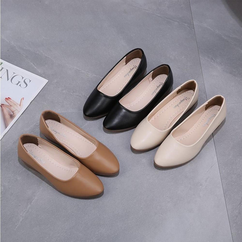 KEITH-WILL時尚鞋館-獨賣學院精選女低跟鞋(共3色)