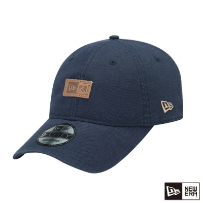 NEW ERA 9FORTY 940UNST 亞麻耐磨布料 NEW ERA 海軍藍 棒球帽
