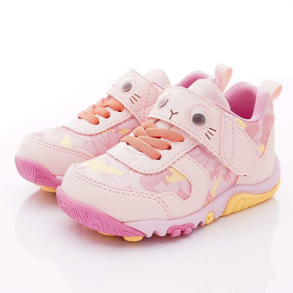 日本Carrot機能童鞋 玩耍速乾公園鞋款 TW2474粉(中小童段)