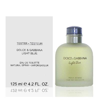 Dolce & Gabanna Light Blue 淺藍男性淡香水 125ml Tester 包裝