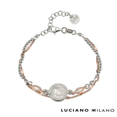 LUCIANO MILANO 纏綿純銀手鍊