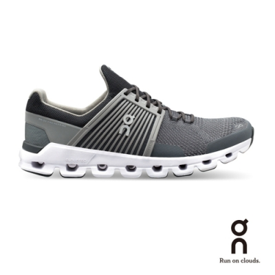 ON 瑞士雲端科技跑鞋-快速雲 男款 鍍鋅灰