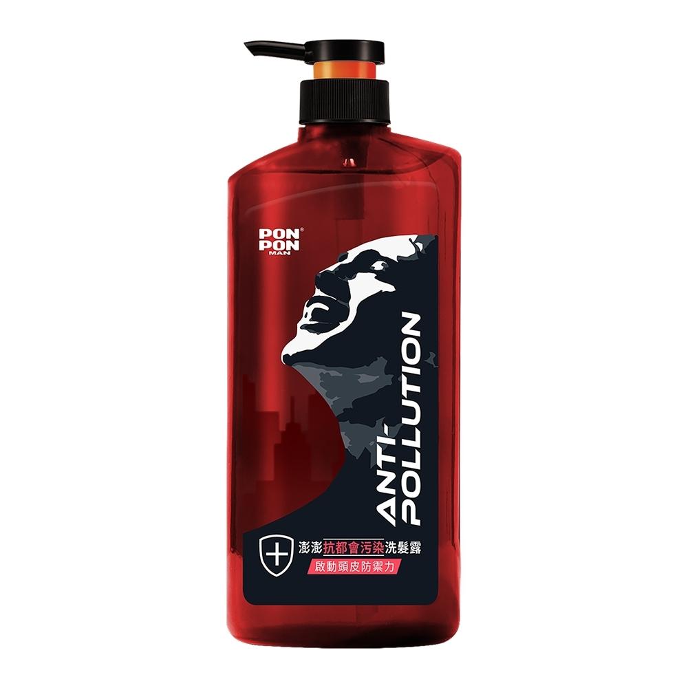 澎澎MAN 抗都會汙染洗髮露-650g+30g