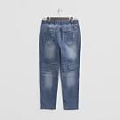 Hang Ten - 男裝 - 綁帶彈性休閒牛仔褲 - 深藍