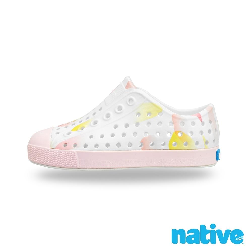 native 小童鞋 JEFFERSON 小奶油頭鞋-夢幻雲彩