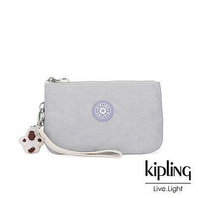 Kipling 法式丁香紫三夾層配件包(大)-CREATIVITY XL