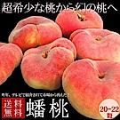 【天天果園】桃仙子蟠桃原箱3.3公斤 (20-22顆)