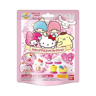 日本BANDAI-三麗鷗家族入浴球15入/盒