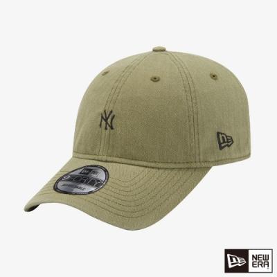 NEW ERA 9FORTY 940UNST 復古人字紋 洋基 橄欖色 棒球帽
