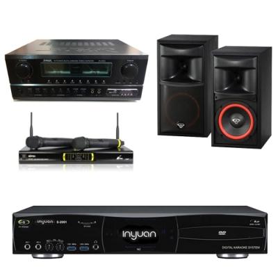 音圓N2+SA-830U+OK-9D II+XLS-6(伴唱機 4TB+卡拉OK套組)