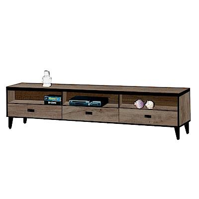 綠活居 納夫時尚5尺木紋電視櫃/視聽櫃-151x40x45.5cm-免組