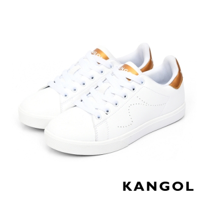 【KANGOL】80週年限定休閒鞋-共兩色