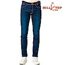 【hilltop山頂鳥】男款保暖修身牛仔褲H31MK7深藍
