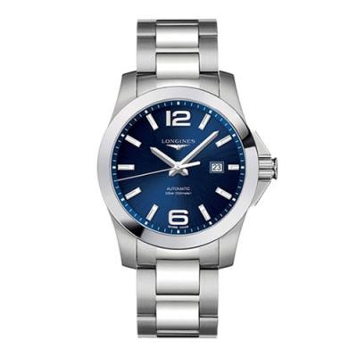 LONGINES浪琴 征服者300米藍面機械腕錶(L37784966)x43mm