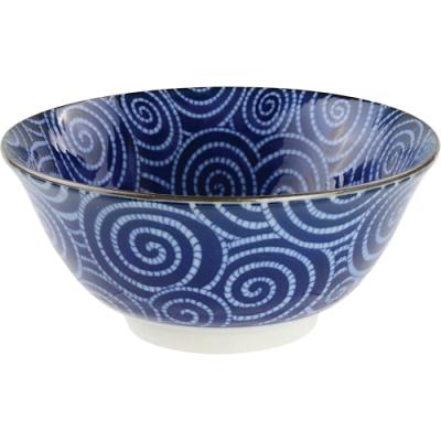 《Tokyo Design》瓷製餐碗(螺紋15.3cm)