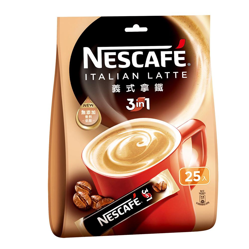 雀巢咖啡三合一義式拿鐵(16gx25入)