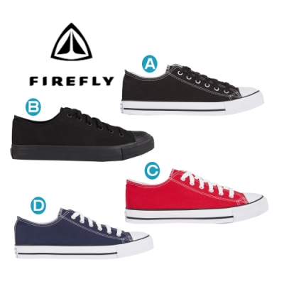 【FIREFLY】INTERSPORT FIREFLY Canvas Low IV男女帆布休閒鞋(302936)