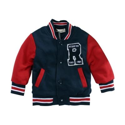 幼兒厚款野球風保暖外套 k61035 魔法Baby