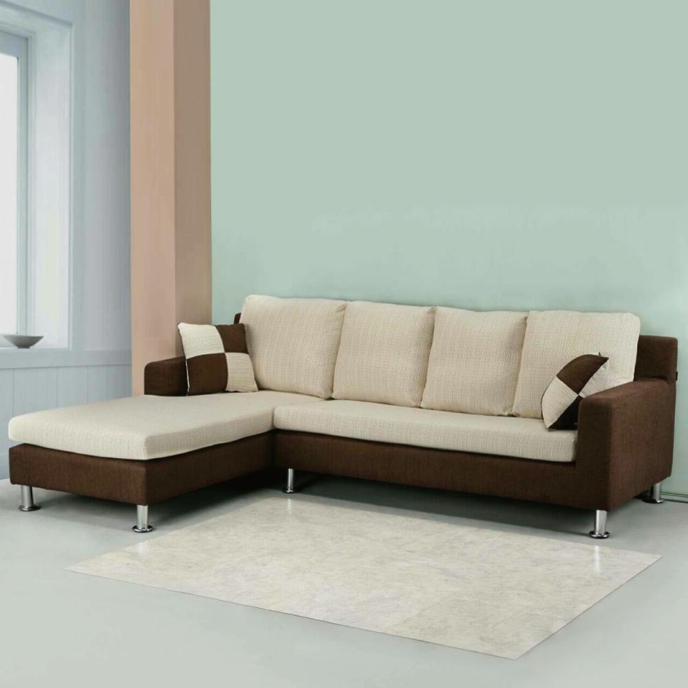 AS-巴特萊雙色布面左L型沙發240x172x88cm
