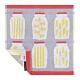 日本丸真 葡萄牙製創意北歐洗臉巾-義大利麵條 product thumbnail 1