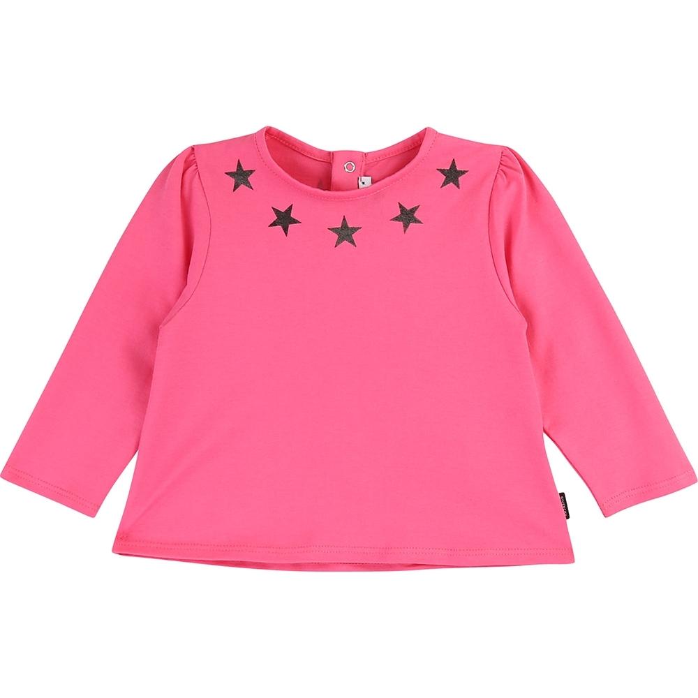 GIVENCHY 粉色星星圖樣上衣 (童)