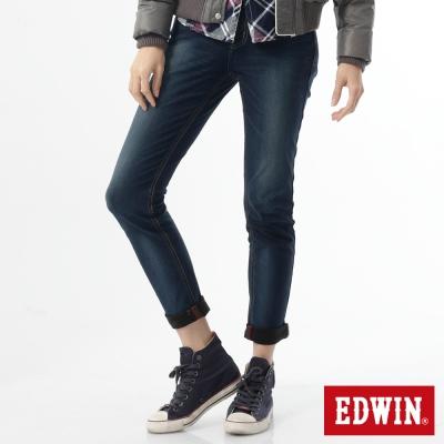 EDWIN AB褲 503JERSEYS迦績保溫褲-女-石洗綠
