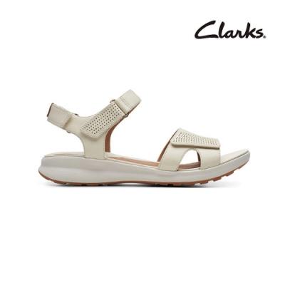Clarks 街頭風尚 Un Adorn Calm 女涼鞋 白色 CLF48723SS20