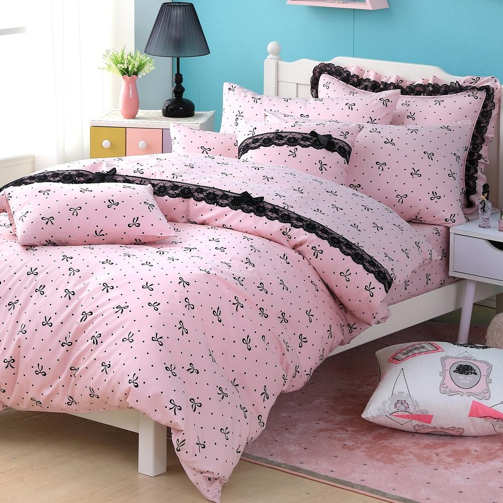 OLIVIA   蝶戀  特大雙人床包被套四件組