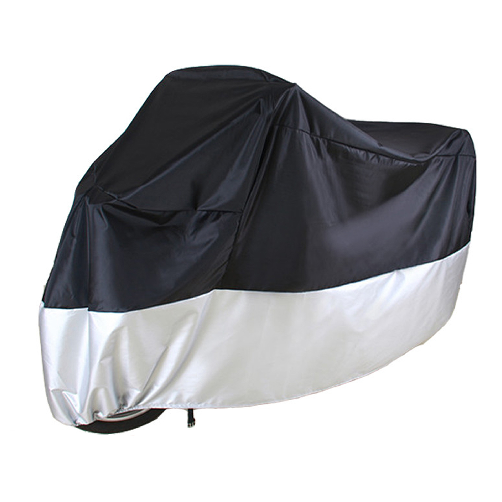威力鯨車神 頂級加厚雙色機車防護罩/機車防曬罩/機車防塵套-XXL號