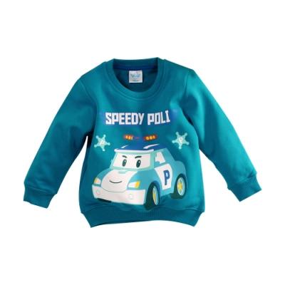 男童 POLI波力款刷毛長袖T恤 k61136 魔法Baby