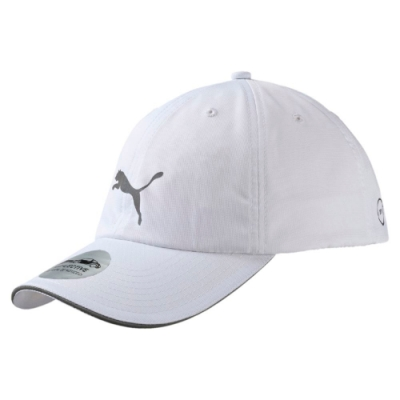 PUMA-男女慢跑系列棒球帽-白色