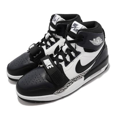 Nike 休閒鞋 Air Jordan Legacy 312  喬丹 運動 男鞋 爆裂紋 魔鬼氈 穿搭 深藍 黑 DO7441-401