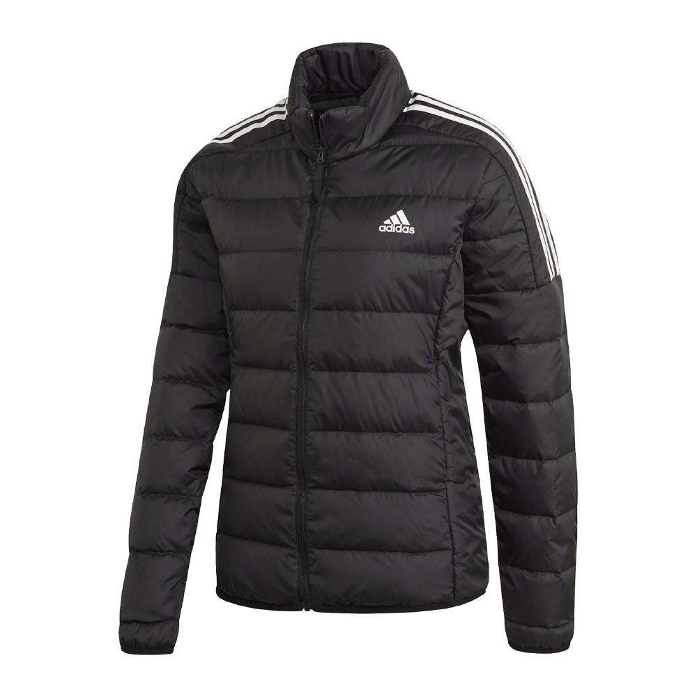 adidas 外套 Essentials Down JKT 女款 愛迪達 羽絨外套 修身 防風 黑 白 GH4593