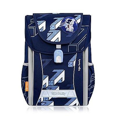 TigerFamily學院風超輕量護脊書包-2色(優雅紫/意象藍)