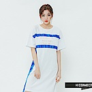H:CONNECT 韓國品牌 女裝-造型織帶休閒洋裝-白