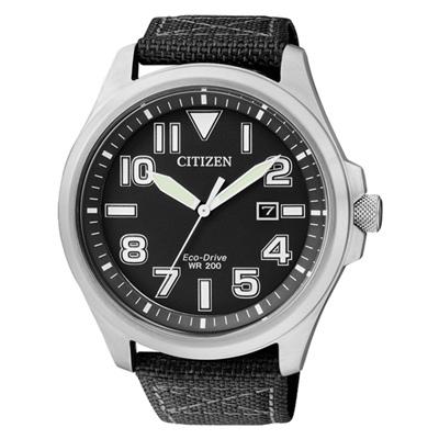 CITIZEN Eco-Drive 穿梭飛越時尚運動腕錶(AW1410-24E)