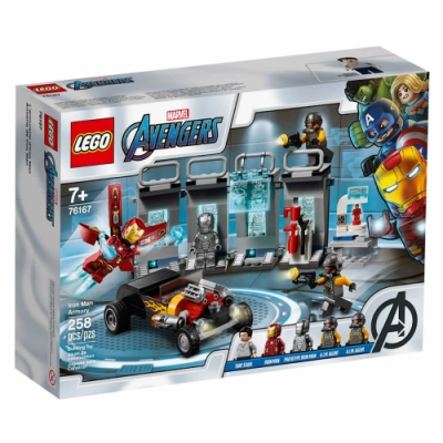 樂高LEGO 超級英雄系列 - LT76167 Iron Man Armory