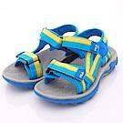 零碼-19/21cm FILA頂級童鞋 運動涼鞋款 434P-393藍黃