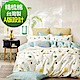 La Lune 台灣製40支精梳純棉雙人床包枕套三件組 本草綱目北歐篇 product thumbnail 1