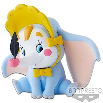 任選Q Posket迪士尼 小飛象小丑版 BD35755 Banpresto