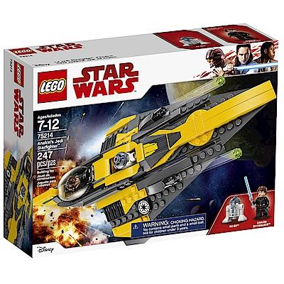 樂高LEGO 星際大戰 LT75214 Anakin's Jedi Starfig