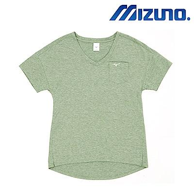 MIZUNO 美津濃 1906 女短袖T恤 綠 D2TA820438