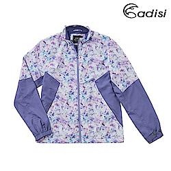ADISI 女天鵝絨超撥水防風保暖立領外套AJ1921065