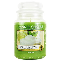 YANKEE CANDLE 香氛蠟燭 623g-香草檸檬