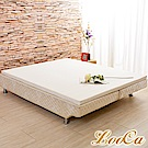 (618限定))LooCa 法國防蹣防蚊技術5cmHT乳膠舒眠床墊單大3.5尺-共二色