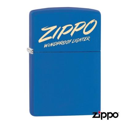 美系Zippo Script Design 文字藝術防風打火機49223