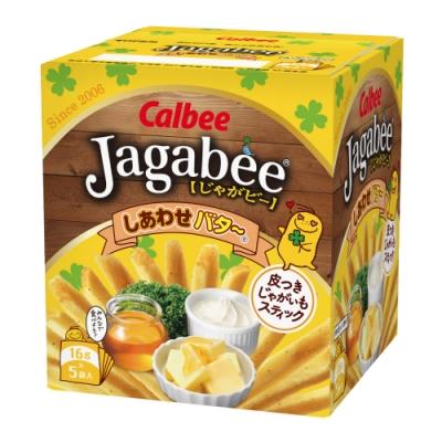 Calbee日本加卡比薯條-幸福奶油(16gX5袋)