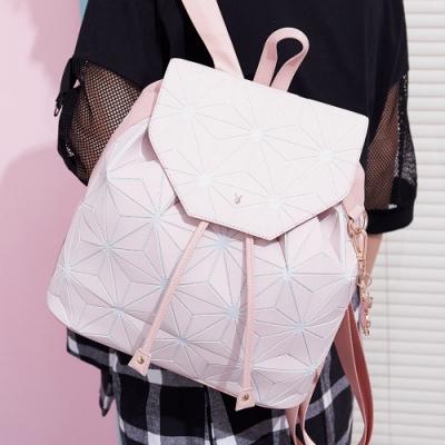 PLAYBOY-  後背包 夢想三角系列-粉色