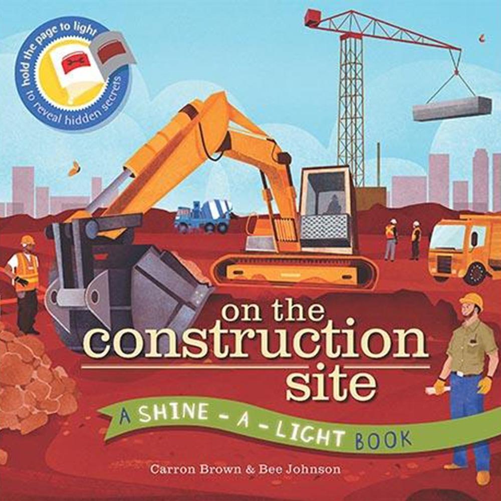 On The Construction Site 透光書:工地篇平裝繪本